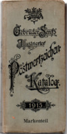 Senf's Stamp Catalogue 1915, 1280++ Pages, Specialized, Nice Condition, Whole World, Example Page -  1911.0403 - Postzegelcatalogus