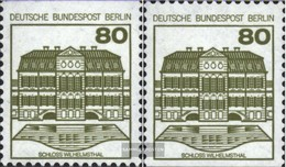 Berlin (West) 674C-674D (complete.issue) Unmounted Mint / Never Hinged 1982 Fortresses And Castles - Unused Stamps