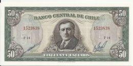 CHILI 50 ESCUDOS ND UNC P 140 B - Chili
