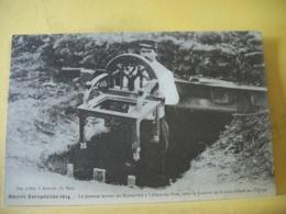 51 8248 CPA - 51 GUERRE EUROPEENNE 1914  LE FAMEUX TERRIER DU KRONPRINZ A VILLERS AUX VENTS AVEC LE FAUTEUIL DE L'EGLISE - Francia