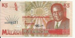 MALAWI 5 KWACHA 1995 UNC P 30 - Malawi