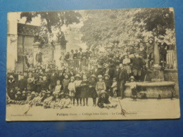 CPA POLIGNY  COLLEGE JULES GREVY  PROFESSEURS ET ELEVES    1914 - Poligny