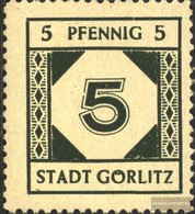 Görlitz 13 MNH 1945 Punto E Crest - Zone Soviétique