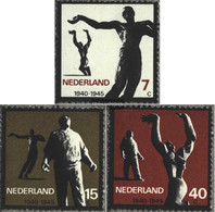 Netherlands 836-838 (complete Issue) Unmounted Mint / Never Hinged 1965 Resistance - Period 1949-1980 (Juliana)
