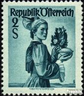 Österreich 919 Postfrisch 1948 Trachtenserie - 1945-.... 2ème République