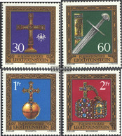 Liechtenstein 625-628 (complete Issue) Unmounted Mint / Never Hinged 1975 Treasury - Unused Stamps