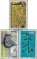 Liechtenstein 1220-1222 (complete Issue) Unmounted Mint / Never Hinged 1999 Walser-house Signs - Liechtenstein