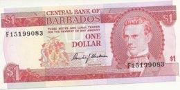 BARBADES  1 DOLLAR ND1973 UNC P 29 - Barbados