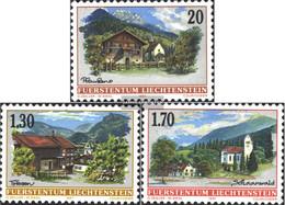 Liechtenstein 1148-1150 (complete Issue) Unmounted Mint / Never Hinged 1997 Village View - Liechtenstein