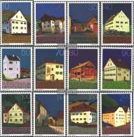 Liechtenstein 694-705 (complete Issue) Unmounted Mint / Never Hinged 1978 Buildings - Unused Stamps
