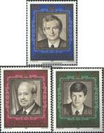 Liechtenstein 942-944 (complete Issue) Unmounted Mint / Never Hinged 1988 50 Years Regency - Unused Stamps