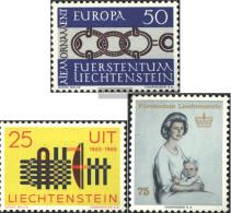 Liechtenstein 454,458,459 (complete Issue) Unmounted Mint / Never Hinged 1965 Special Stamps - Liechtenstein