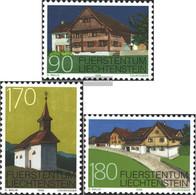Liechtenstein 1186-1188 (complete Issue) Unmounted Mint / Never Hinged 1998 Monuments - Liechtenstein
