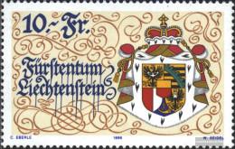 Liechtenstein 1136 (complete Issue) Unmounted Mint / Never Hinged 1996 75 Years New Constitution - Liechtenstein