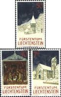 Liechtenstein 1050-1052 (complete Issue) Unmounted Mint / Never Hinged 1992 Christmas - Liechtenstein