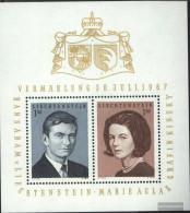 Liechtenstein Block7 (complete Issue) Unmounted Mint / Never Hinged 1967 Royal. Wedding - Blocks & Sheetlets & Panes