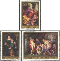 Liechtenstein 655-657 (complete Issue) Unmounted Mint / Never Hinged 1976 Rubens - Unused Stamps