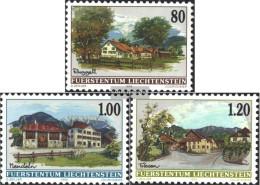 Liechtenstein 1192-1194 (complete Issue) Unmounted Mint / Never Hinged 1999 Village Views - Liechtenstein