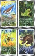 Liechtenstein 967-970 (complete Issue) Unmounted Mint / Never Hinged 1989 Conservation - Unused Stamps