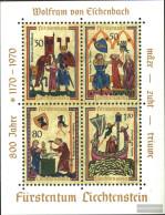 Liechtenstein Block8 (complete Issue) Unmounted Mint / Never Hinged 1970 Minstrel - Blocks & Sheetlets & Panes