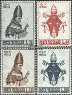 Vatikanstadt 432-435 (complete Issue) Unmounted Mint / Never Hinged 1963 Coronation - Unused Stamps