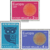 Greece 1040-1042 (complete Issue) Unmounted Mint / Never Hinged 1970 Europe - Greece