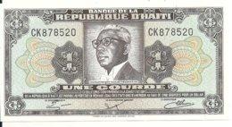 HAITI 1 GOURDE 1984 UNC P 239 - Haïti
