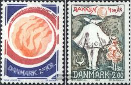 Denmark 767,769 (complete Issue) Unmounted Mint / Never Hinged 1983 Communications, Vergnügungspark - Denmark
