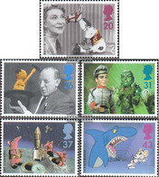 United Kingdom 1652A-1656A (complete Issue) Unmounted Mint / Never Hinged 1996 Fersehprogramm For Children - 1952-.... (Elizabeth II)