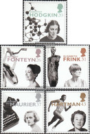 United Kingdom 1647-1651 (complete Issue) Unmounted Mint / Never Hinged 1996 Famous Women - 1952-.... (Elizabeth II)