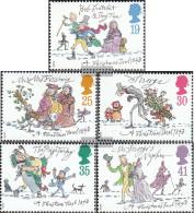 United Kingdom 1483-1487 (complete Issue) Unmounted Mint / Never Hinged 1993 Christmas - 1952-.... (Elizabeth II)