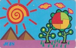 Télécarte Japon / 110-142826 - Site EGYPTE - PYRAMIDE ** JOIS ** - EGYPT Rel. Japan Phonecard - 213 - Cultura