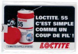 SEPATEL  - LOCTITE - Tirage 170 Exemplaires - Code Non Gratté - Voir Scans - France