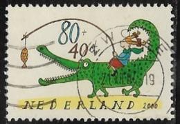 Netherlands SG MS2058(ex) 2000 Child Welfare 80c+40c Type 3 Good/fine Used [40/32867/6D] - Period 1980-... (Beatrix)