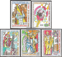 Vatikanstadt 1297-1301 (complete Issue) Unmounted Mint / Never Hinged 1999 The World Travel - Unused Stamps