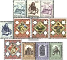 Vatikanstadt 621-624,625-628,629-631 (complete Issue) Unmounted Mint / Never Hinged 1973 Copernicus, Episcopal, Patriarc - Vatican