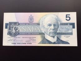 CANADA P95 5 DOLLARS 1986 UNC - Canada