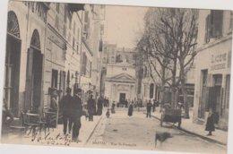 20 BASTIA Rue Saint Francois  Ecrite Bon Etat - Bastia