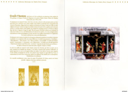 """"""" LE RETABLE D'ASSENHEIM """" Sur Document Philatélique Officiel 1er Jour De 4 Pages De 2012  N° YT F4675 Parfait état. DPO - 2010-...."""