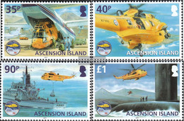 Ascension 1138-1141 (complete Issue) Unmounted Mint / Never Hinged 2011 Senotrettungsdienst - Ascension