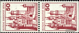 Berlin (West) 536C/D Vertical Couple Unmounted Mint / Never Hinged 1977 Fortresses And Castles - [5] Berlin