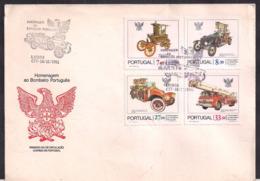 Portugal - 1981 - FDC - Hommage Au Pompier Portugais - Sapeurs-Pompiers