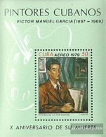 Cuba Block60 (complete Issue) Unmounted Mint / Never Hinged 1979 Paintings Of V. Manuel - Unused Stamps