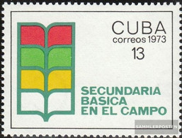 Cuba 1878 (complete Issue) Unmounted Mint / Never Hinged 1973 Improvement Education - Unused Stamps
