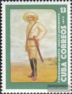 Cuba 1873 (complete Issue) Unmounted Mint / Never Hinged 1973 Ignacio Agramonte - Unused Stamps