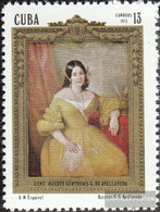 Cuba 1847 (complete Issue) Unmounted Mint / Never Hinged 1973 Gertrudis Gomez De Avellaneda - Unused Stamps