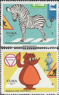Cuba 1640-1641 (complete Issue) Unmounted Mint / Never Hinged 1970 Verkehrswoche - Unused Stamps