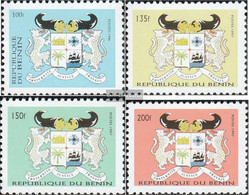 Benin 904,926-928 (complete Issue) Unmounted Mint / Never Hinged 1996 State Emblem - Benin (1892-1894)