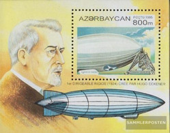 Aserbaidschan Block14 (complete Issue) Fine Used / Cancelled 1995 Balloons And Airships - Azerbaidjan