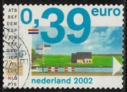 Netherlands SG2213 2002 Landscapes 39c Good/fine Used [5/6045/6D] - Period 1980-... (Beatrix)